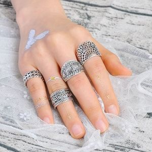 COMING SOON!! Vintage Silver Statement Midi Rings